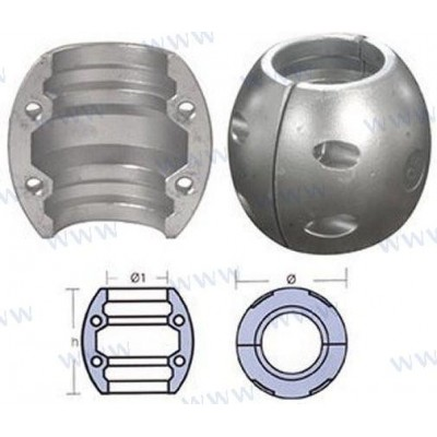 COLLARIN EJE 80 mm