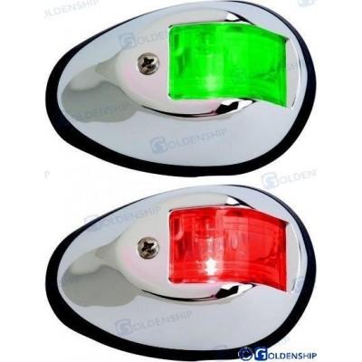 PAR LUCES NAVEGACION INOX LED