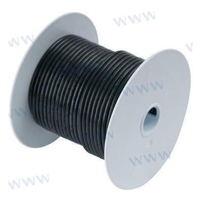CABLE MARINO 16 AWG 1mm² Negro - 30 m